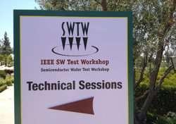 Semiconductor wafer test workshop swtw sign