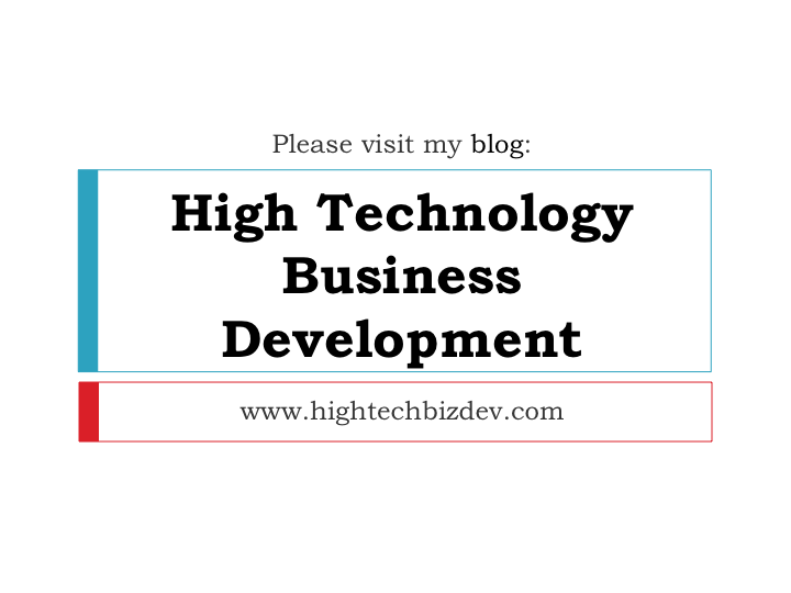 IraFeldman-HighTechnologyBusinessDevelopment