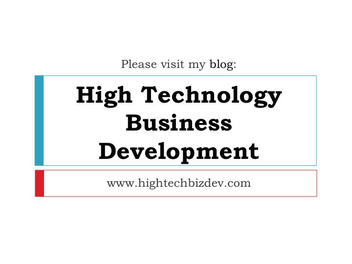 IraFeldman-HighTechnologyBusinessDevelopment
