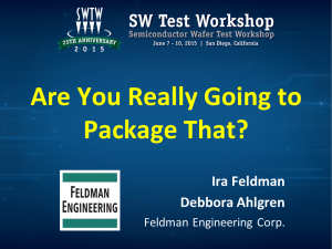 Are You Really Going To Package That? - Ira Feldman and Debbora Ahlgren - SW Test 2015
