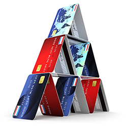 credit card house of cards canstockphoto22380257_250x250